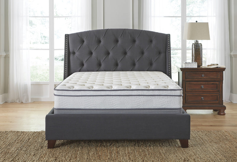 King Euro Top Mattress Set