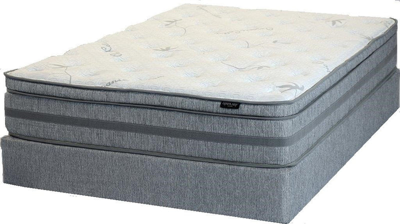 Organic Cotton Eurotop Queen Mattress