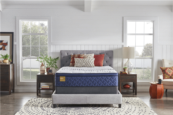 Sealy Super Pillow Top Queen Size Mattress - Save on Mattresses Outlet