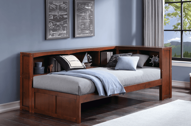 Day bed with storage Cherry