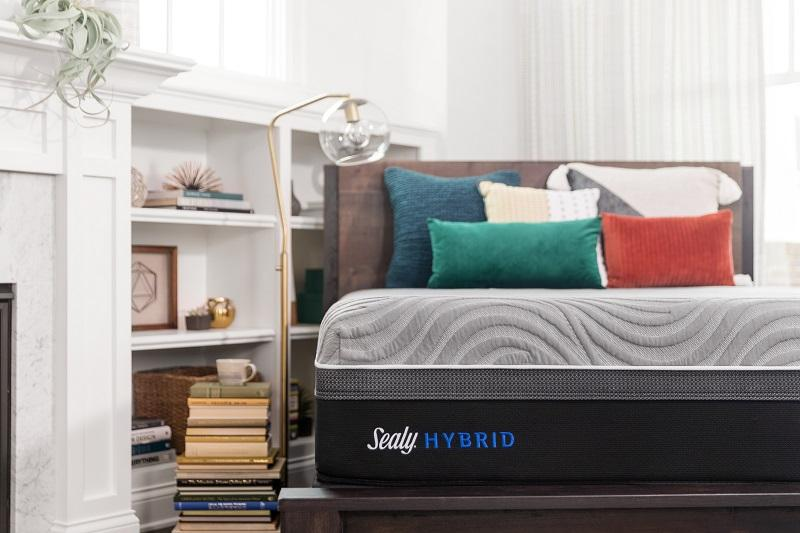 Sealy Hybrid Copper II with Posturepedic Technology Firm Queen Size - Save on Mattresses Outlet