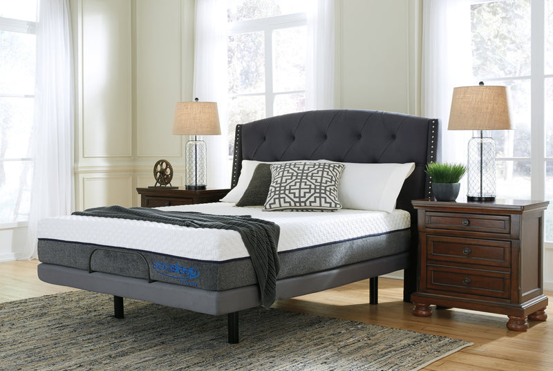 Sierra Sleep Hybrid California King Mattress Cushion Firm - Save on Mattresses Outlet