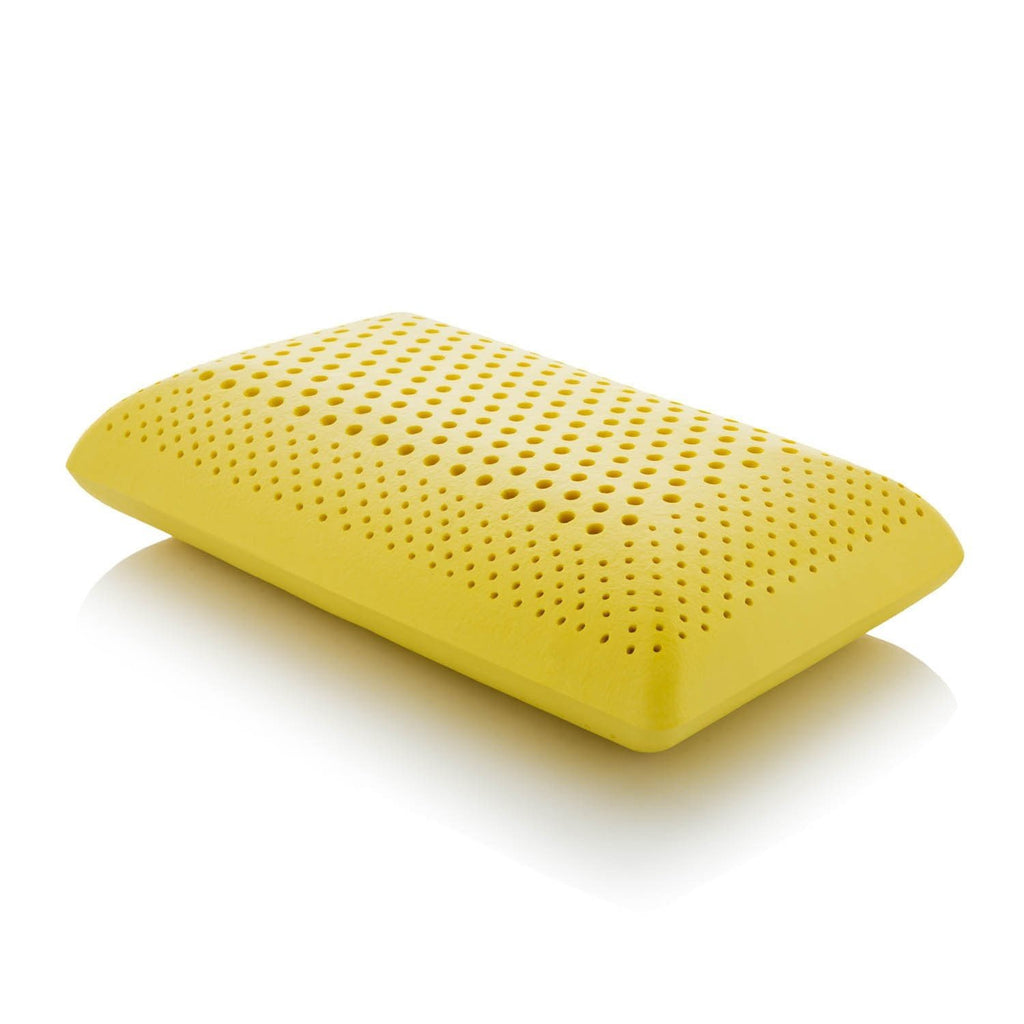 Malouf Z Zoned Dough Memory foam pillow Infused with Chamomile Scent - Save on Mattresses Outlet