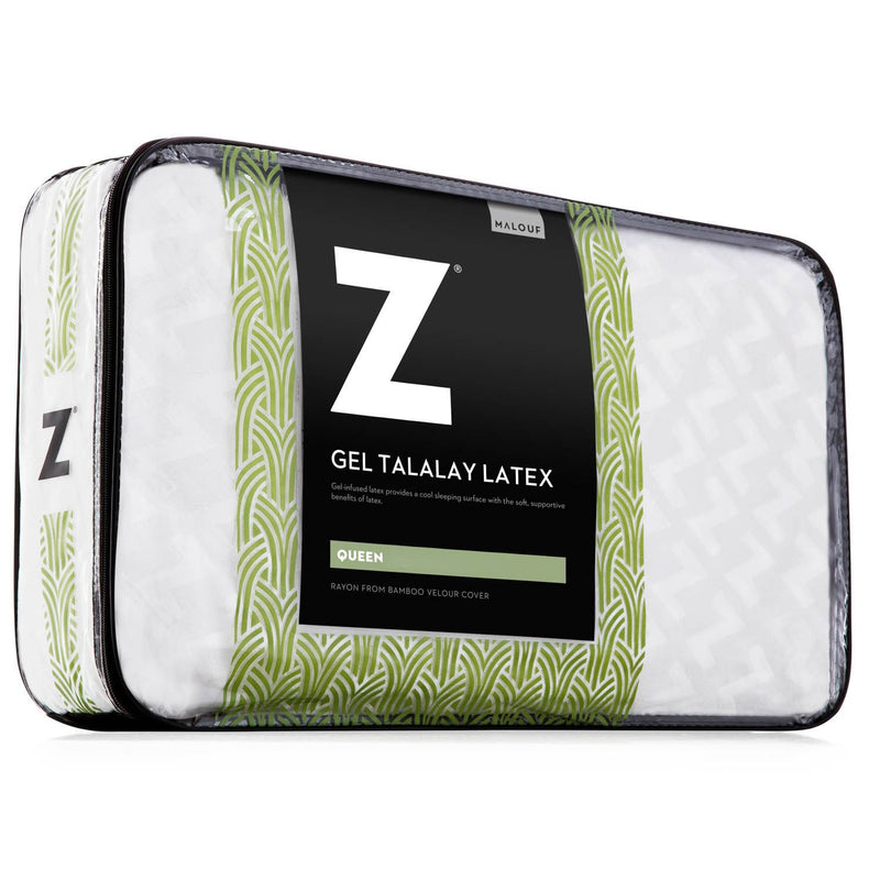 Gel Zoned Talalay Latex Pillow - Free Shipping (delivery within 4-5 business days) - Save on Mattresses Outlet