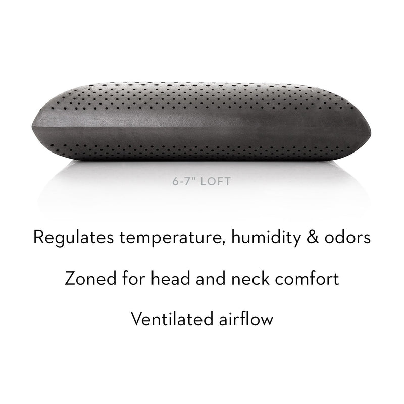 Zoned Dough + Bamboo Charcoal Pillow - Free Shipping (delivery within 4-5 business days) - Save on Mattresses Outlet