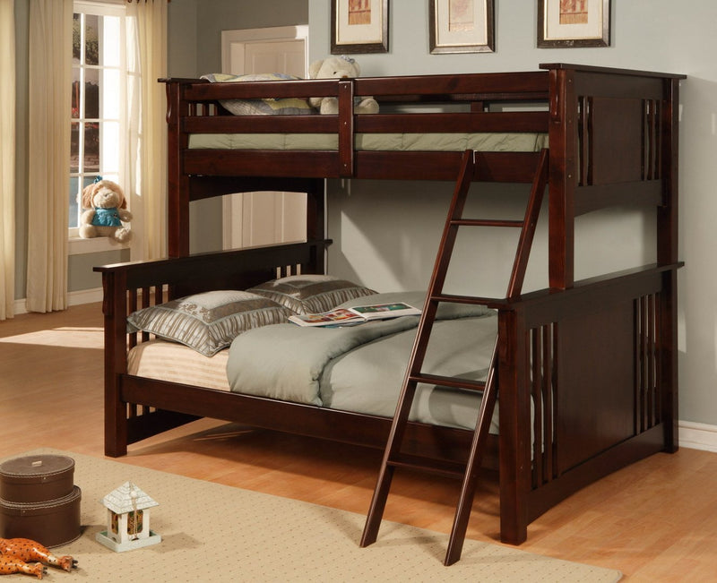 Twin/Full Bunk Bed - Save on Mattresses Outlet