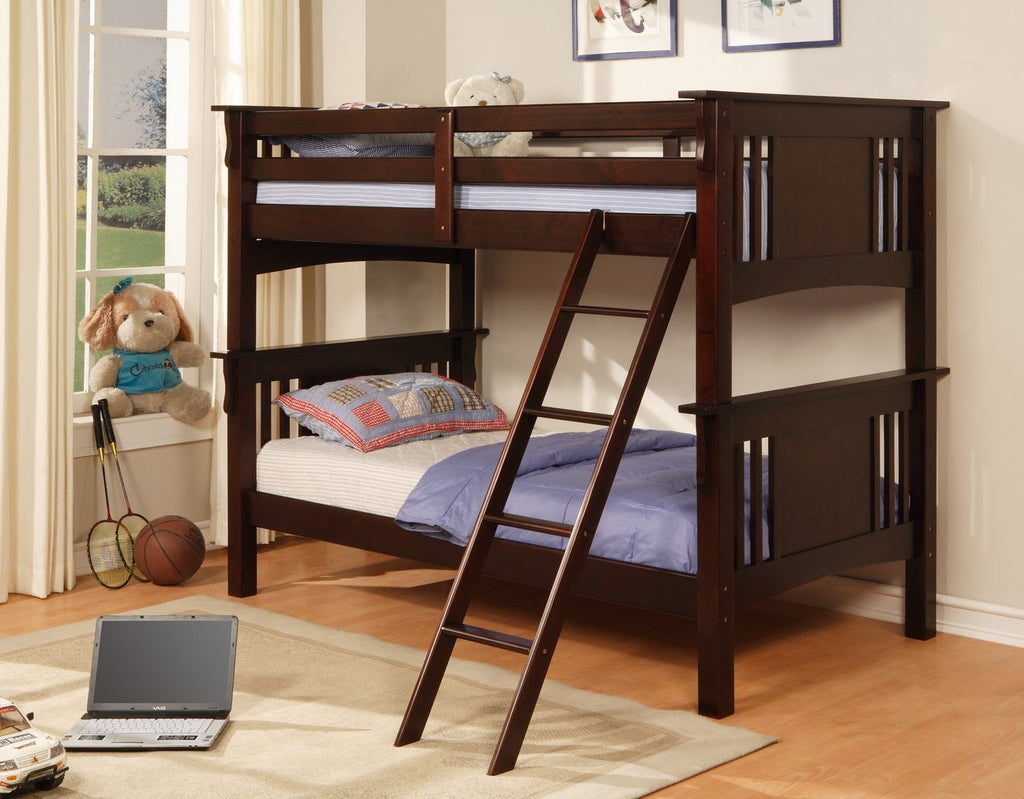 Twin/Twin Bunk Bed - Save on Mattresses Outlet