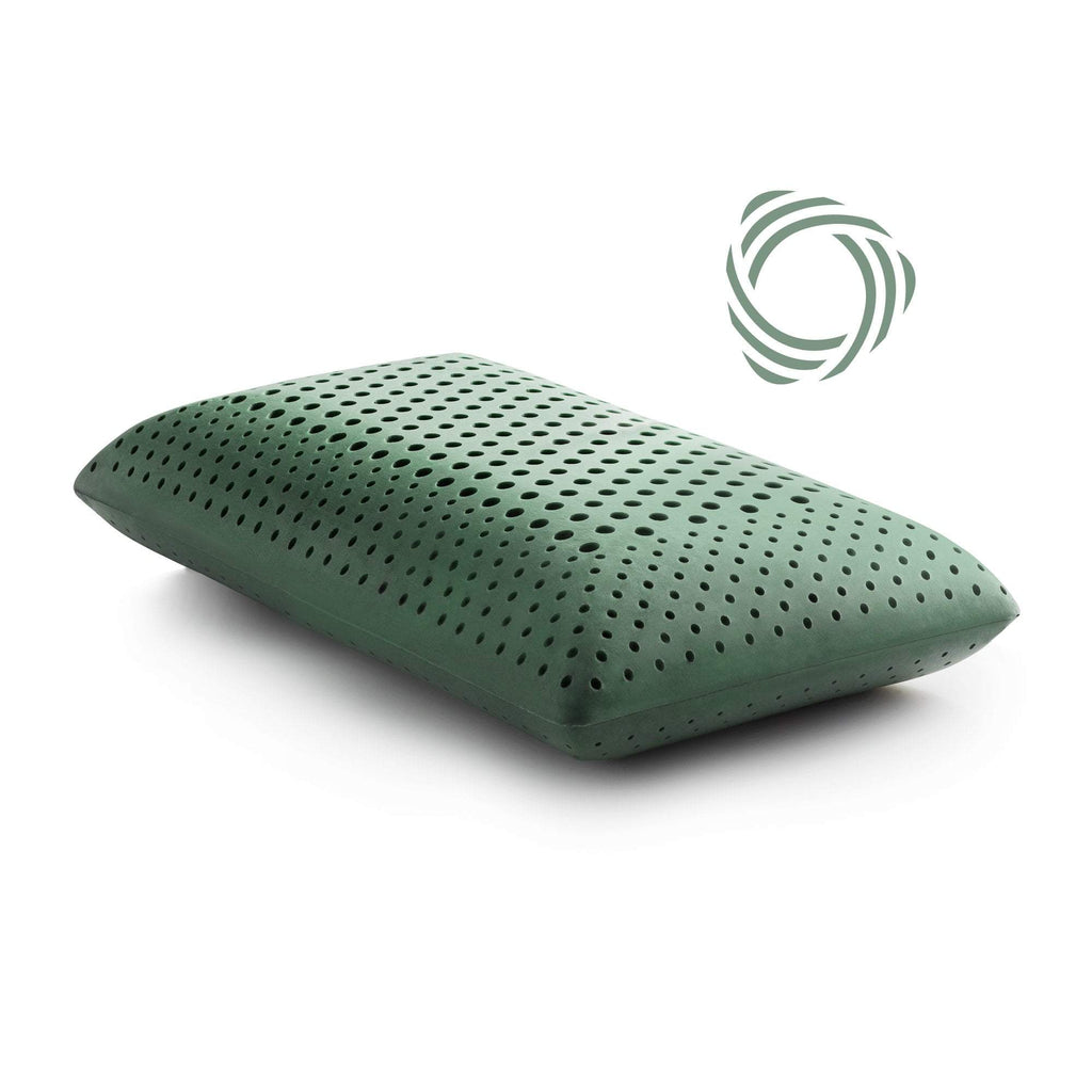 CBD oil Infused Zoned Dough Memory foam King Pillow by Malouf Z