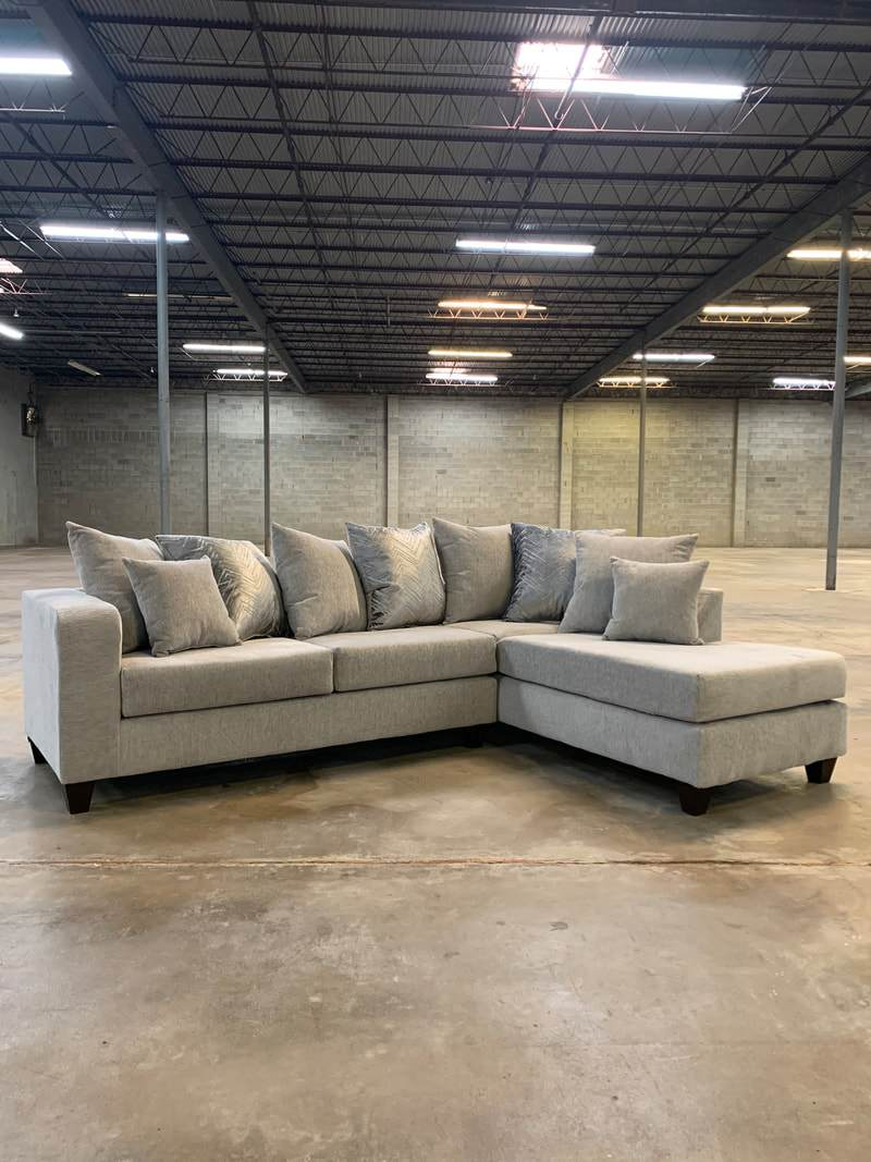 Dove Sectional Grey