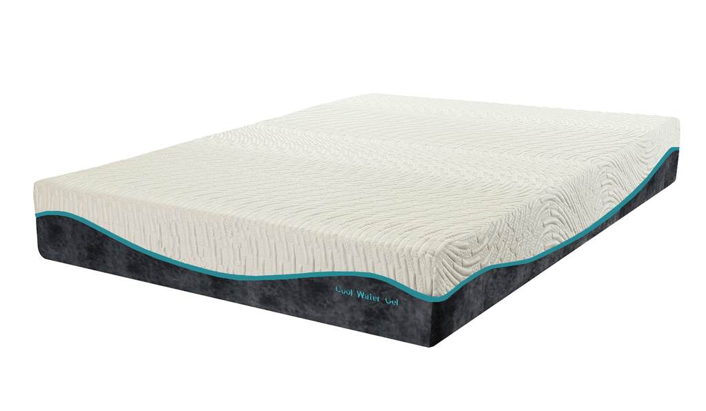 Cool Gel Memory Foam Queen Size Mattress by Superpedic - Save on Mattresses Outlet