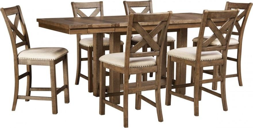 Ashley Furniture Counter Height Dining Table And 6 Chairs