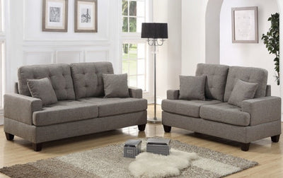 Sofa and Love Seat 6501 - Save on Mattresses Outlet