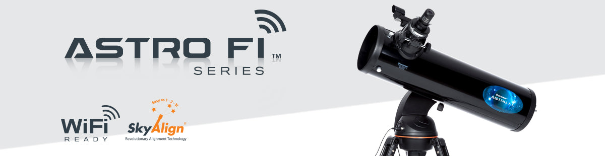 Astro Fi WiFi Telescopes Collection Hero Image