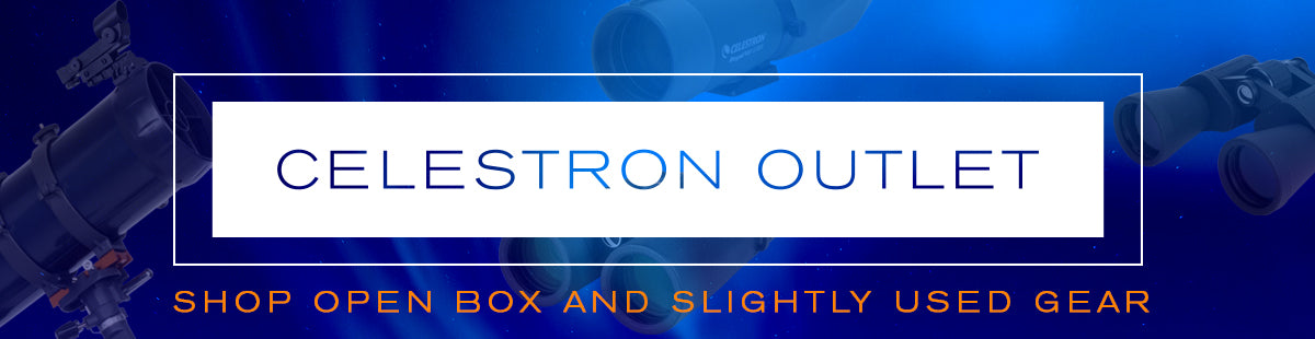 Celestron Outlet Collection Hero Image