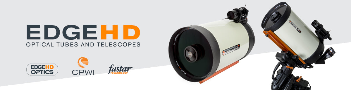 EdgeHD Optical Tubes and Telescopes Collection Hero Image