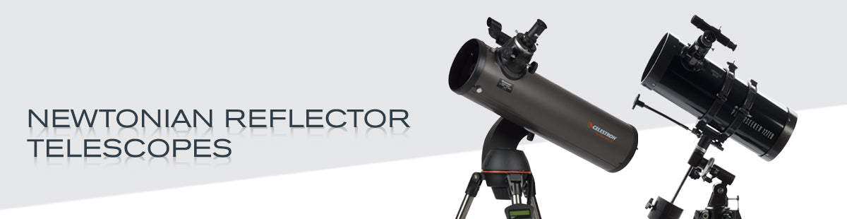 Newtonian Reflector Telescopes Collection Hero Image