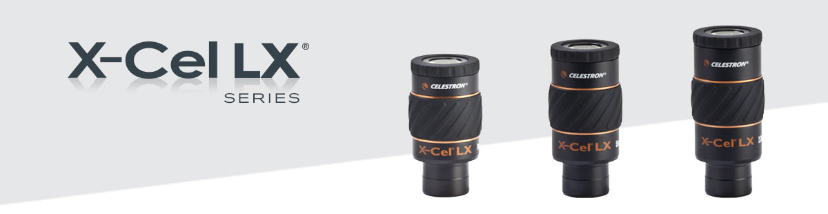 X-Cel LX Eyepieces Collection Hero Image