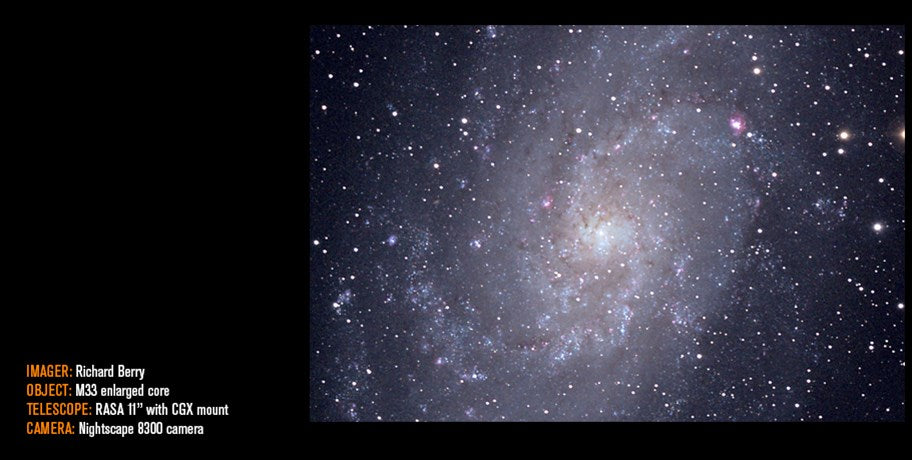 M33 by Richard berry