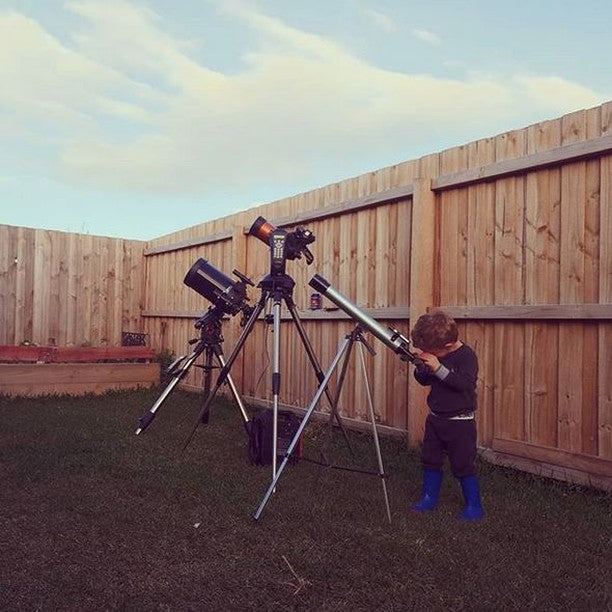 Explore with a Telescope
