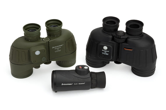 Oceana 7x50 Porro WP IF and RC - Military / Camouflage Binoculars