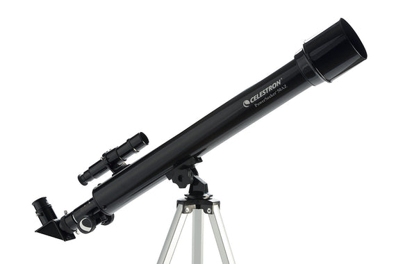 PowerSeeker 60AZ Telescope with a Smartphone Adapter