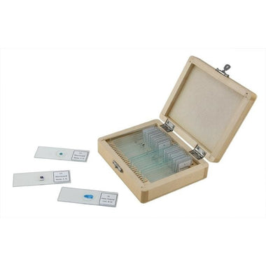 25 Piece Prepared Microscope Slide Kit