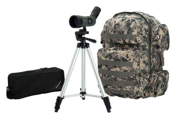 LandScout 10-30x50mm Spotting Scope Backpack Kit