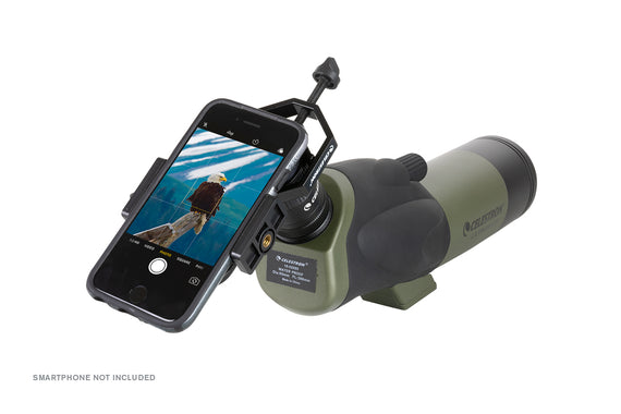 Ultima 18-55x65mm - 45 Degree Spotting Scope with Smartphone Adapter