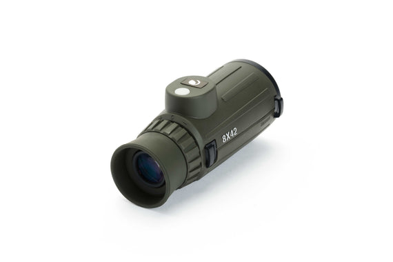 Cavalry monocular with compass reticle celestron