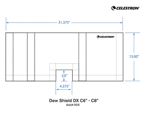 Dew Shield DX for C6 & C8