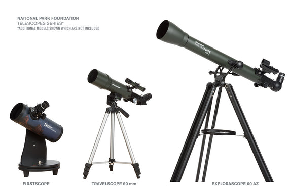 National Park Foundation Explorascope 60az Telescope Celestron