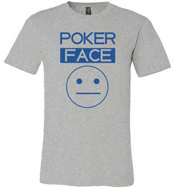 Poker Face Crew Neck Tee - MicroGrinder Poker Shop