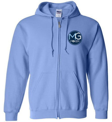 MicroGrinder Poker Zip Up Hoodie - MicroGrinder Poker Shop
