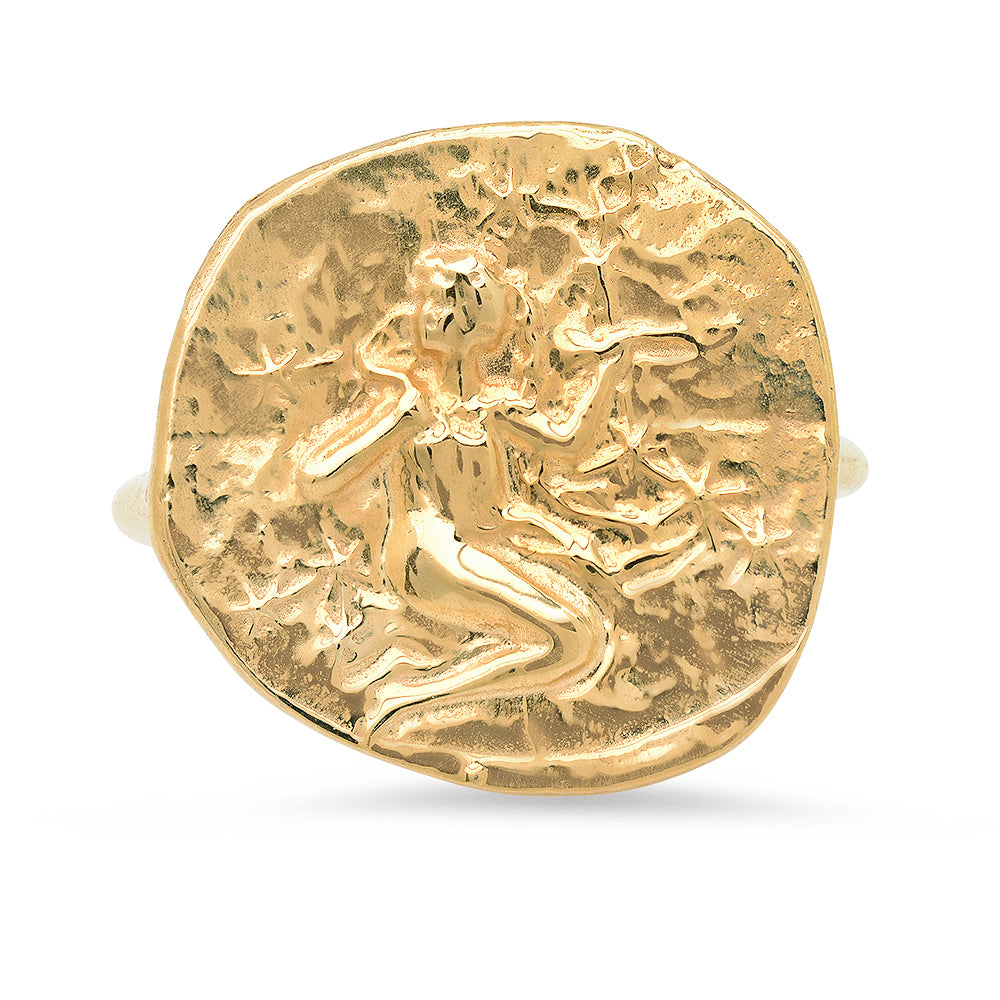 Virgo Ring - 18K Gold Plated