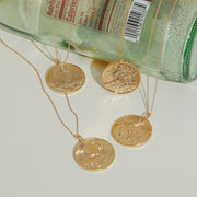 Forest Token Necklace