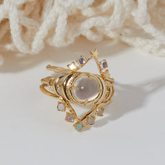 Cleo Ring in Opal