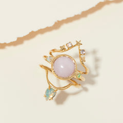 Siggy Ring in Moonstone
