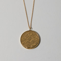 Mountain Token Necklace