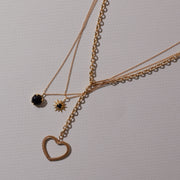 Under The Stars Necklace in Black Onyx
