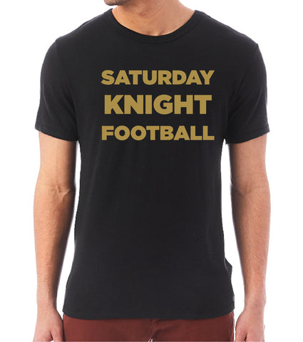 Saturday KNIGHT Football Keeper Unisex Tee