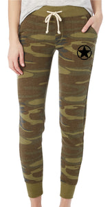 Camo Fleece Jogger Pants