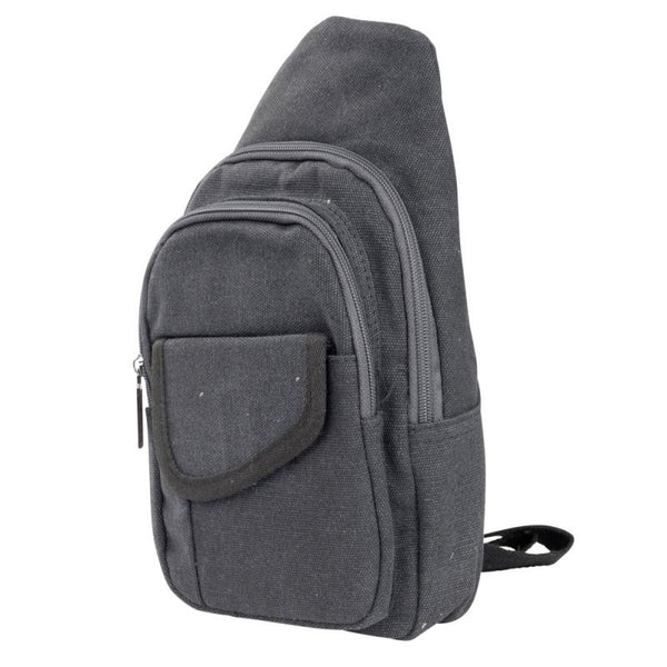 Small Canvas Sling Backpack