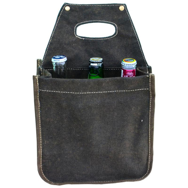 B.E.E.R Bottle 6 Pack Canvas Tote