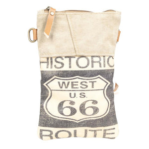 Route 66 Passport Bag