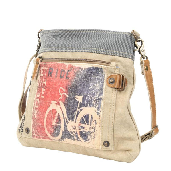 Enjoy the Ride Bicycle Crossbody