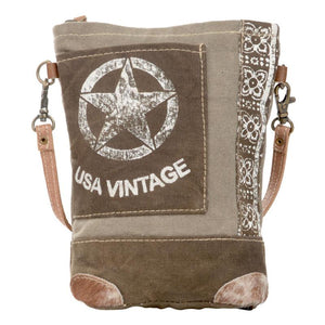 USA Vintage Passport Bag