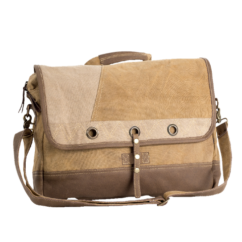 Plain Laptop Messenger Bag