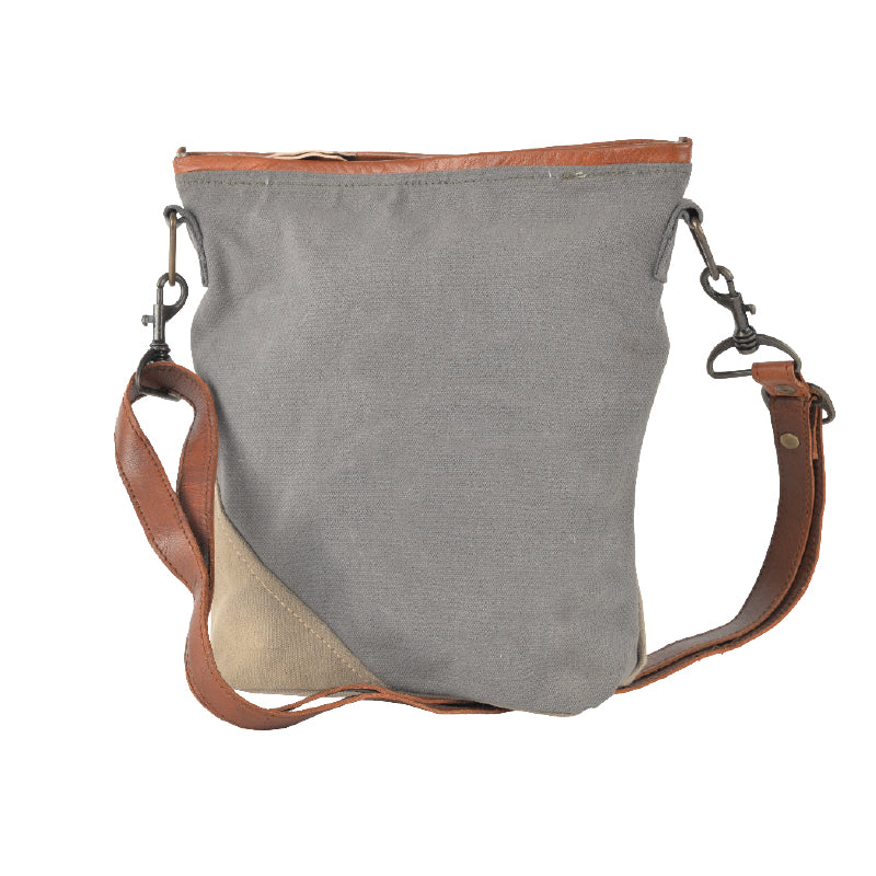Plain Gray Crossbody bag