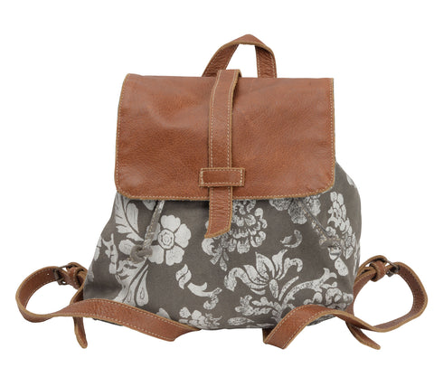 Flower Flap Over Backpack