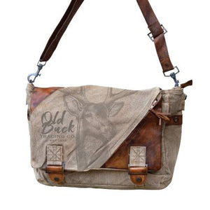 Old Buck Messenger Bag